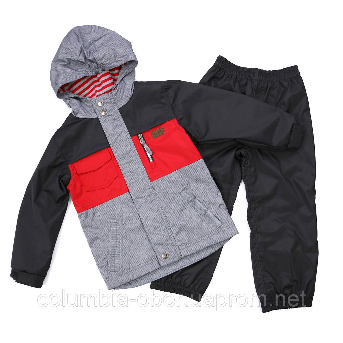 Демисезонный костюм для мальчика Peluche 65 M S17 Chili. Размеры  98 и  127.