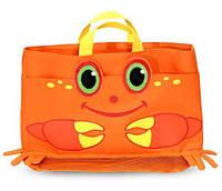 """MD6419 Clicker Crab Beach Tote Bag (Пляжная сумочка """"Мистер Краб"""")"""