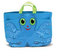 "MD6420 Flex Octopus Beach Tote Bag (Пляжная сумочка ""Осьминог Флекс"")"