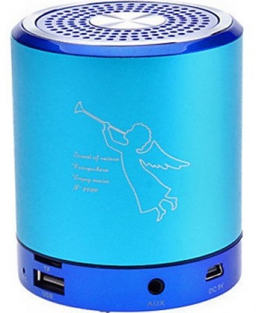 Колонки Bluetooth. Колонка T-2020, portable Mini Speaker, Micro SD, TF, разъем USB.