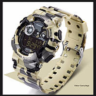 Спортивные Часы Sanda sd-289 Водонепроницаемые armuy green