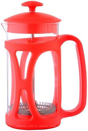 Заварник Con Brio CB-5380 (800мл.) красный        , фото 2