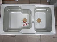 Мойка кухонная тектонитовая Castalia CAS 345 alumetallik