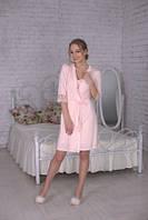 Домашняя одежда женская_Халаты женские_Халат для женщины 357/XL/розовый в наличии XL р., также есть: L,XL, Рок