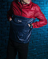 Анорак Pobedov Lightness Navy/Red M