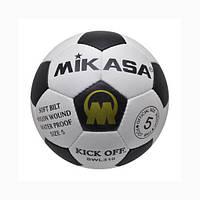 Мяч футбольный кожаный Mikasa