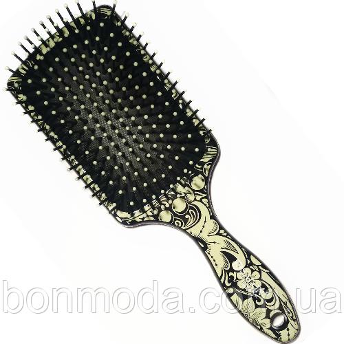 Расческа массажная с принтом большая Salon Professional 6997 L