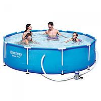 Каркасный бассейн Bestway , 305х76 см с фильтр-насосом