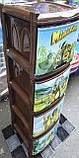 Комод пластиковий, з малюнком Мадагаскар, фото 2