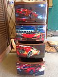 Комод пластиковий, з малюнком Авто, фото 2