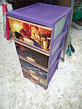 Комод пластиковый, с рисунком Человек Паук, фото 3