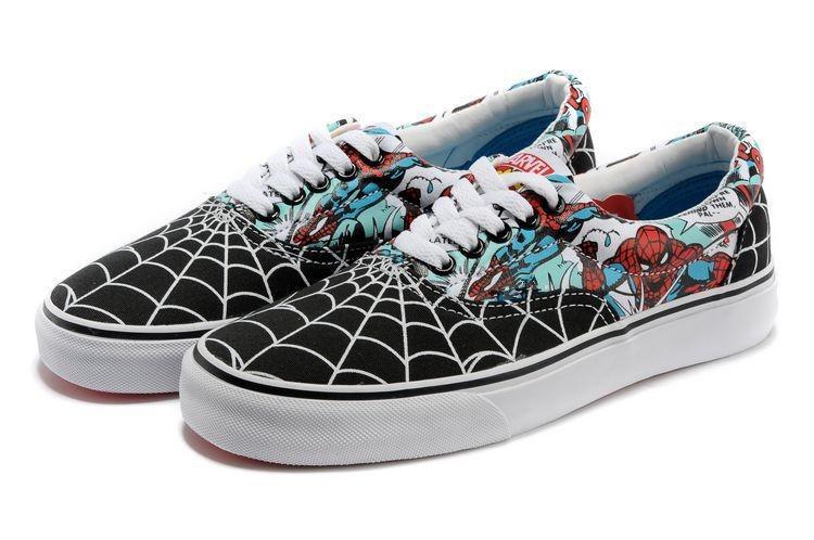 Кеды женские Vans Marvel Comics Spiderman топ реплика