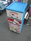 Дитячий пластиковий комод Hello Kitty 2, фото 2