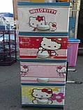 Дитячий пластиковий комод Hello Kitty 2, фото 4