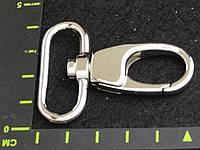 Карабин 069 32mm никель антик никель