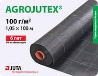 Черная агроткань Agrojutex 1,05 х 100 м, фото 1