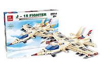 Конструктор Jie Star 29014 самолет 270 дет. в коробке