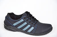 Три в одном кроссовки,мокасины,туфли стильные удобные темно синие Львов Да, Украина, 43
