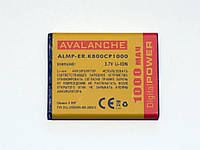 АКБ Avalanche для Sony Ericsson K800, J100i, K790i, V800,Z530i (BST-33) - 1000 мАч