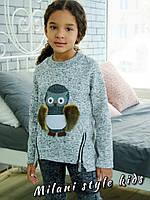 """Модный детский свитшот """"Сова"""" МС-002.036"""