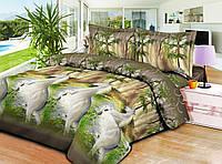 Качественное постельное белье ТЕП  RestLine 195 «Мустанг» 3D дешево от производителя.