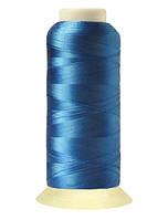 """Нитки вышивальные шелковые  """"777"""" - цвет голубой"""
