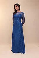 Вечернее платье прямое (Т-2017-01) цвета в ассортименте