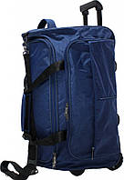 Дорожная сумка на колёсах Bagland  Таллин Blue
