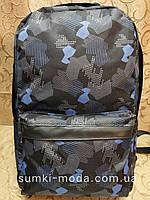 Принт рюкзак Абстракция качество с кожаным дном Унисекс/спортивный спорт городской стильный(только опт)