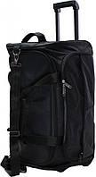 Дорожная сумка на колёсах Bagland  Таллин Black