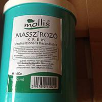 """Профессиональный крем для массажа """"Mollis"""","""