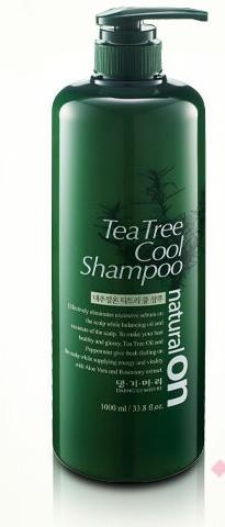 Daeng Gi Meo Ri Naturalon Tea Tree Cool Shampoo Охлаждающий шампунь на основе чайного дерева Тенги Мори 1000мл