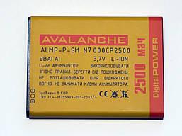 АКБ Avalanche для Samsung N7000Galaxy Note,i9220,i9200 - 2500 мАч