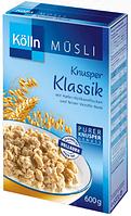Kölln Müsli Knusper Klassik - Мюсли хрустящие Классические, 600г