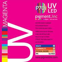 Чернила UV LED P70i PIGMENT.INC™ MAGENTA 1 литр