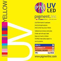 Чернила UV LED P70i PIGMENT.INC™  YELLOW 1 литр