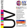 Чернила UV LED P70i PIGMENT.INC™  WHITE 1 литр
