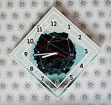 Оригинальные настенные часы Кристал