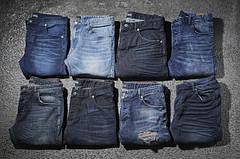 Брюки мужские, джинсы