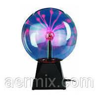 Плазменный шар большой 22 см, оригинальный ночник, шар молния купить недорого, купить, где купить