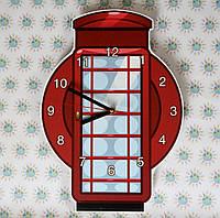 Часы настенные Телефонная будка
