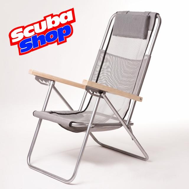 Кресло-шезлонг «Ясень» для рыбалки и туризма