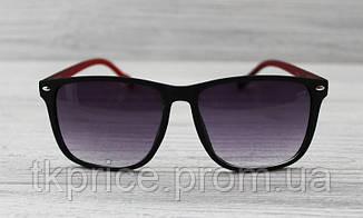 Купить Солнцезащитные очки матовые унисекс черные с флексами ... 05916ff834b69