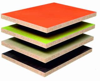 Плитные материалы ДСП и ДВП ламинированная