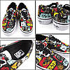 Кеды мужские Vans Marvel Comics Star Wars Color топ реплика, фото 2