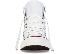 Мужские кеды Converse All Star высокие белые топ реплика, фото 3