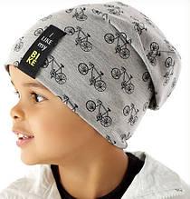 Демисезонная однослойная шапочка для мальчика от Marika Польша