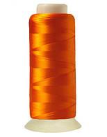"""Нитки вышивальные шелковые  """"777"""" - цвет оранжевый"""