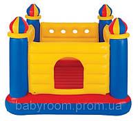 Надувной игровой центр батут Замок Intex 48259