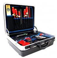 Набор инструментов в кейсе KNIPEX VDE 002105 HKS отопление, сантехника, клима  23 штуки. Германия